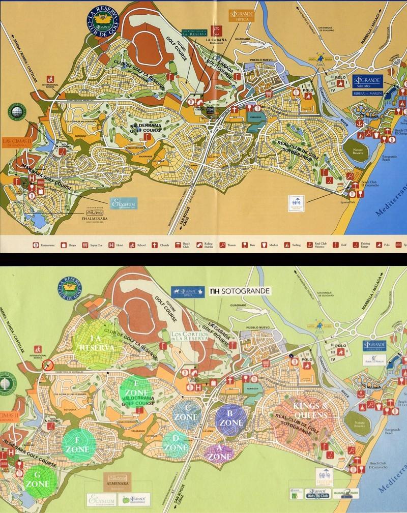 Sotogrande Map Image